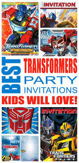 transformers party transformers party ideas