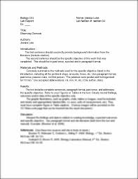 lab report template biology lab report template 2 professional and high quality