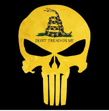 Gadsden Flag History Punisher Skull Gadsden Flag