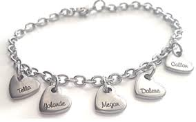 Mothers Bracelets With Names Personalized Bracelets Charis Jewelry Sa