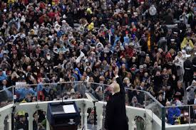picture of inauguration crowd donald trump u0027s inauguration a dispatch from the end of america spin