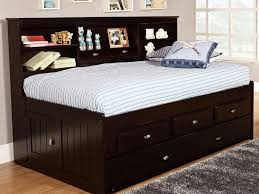 Bed Frame With Storage Plans Size Bed Twin Trundle Bed Frame In Handy With Plans St Metal Pop