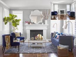 decorating small livingrooms a s day living room makeover hgtv