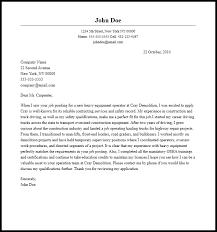 light equipment operator job description professional heavy equipment operator cover letter sle writing