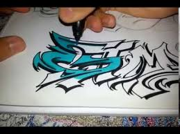 gtm graffiti sketch coloring with prismacolor markers youtube