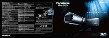 panasonic 3mos manual download free pdf for panasonic hdc sdt750 camcorders manual