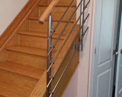 metal stair railing etsy