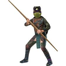 Ninja Turtle Womens Halloween Costumes Teenage Mutant Ninja Turtle Movie Deluxe Donatello Costume