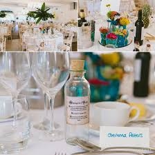 Tropical Theme Wedding - bournemouth beach tropical themed wedding kate david paul