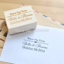 timbre personnalisã mariage aliexpress acheter personnalisé timbre pour mariage bois
