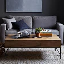west elm industrial storage coffee table rustic coffee table rustic coffee tables rustic table and storage