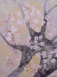Peinture Cerisier Japonais by