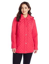 plus size light jacket calvin klein women s plus size lightweight quilt berry 1x at