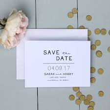 Make Your Own Save The Dates Wedding Invitations And Stationery Notonthehighstreet Com