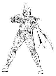 clone wars commander coloring pages coloring home