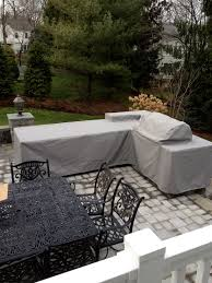 Waterproof Outdoor Patio Furniture Covers L Shaped Patio Furniture Cover Somani Cm Os2128 12 Outdoor Patio L