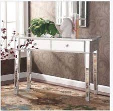 mirrored bedroom vanity table mirrored vanity table ebay