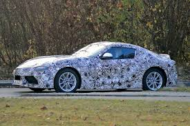 toyota supra side view new toyota supra spied pictures gazoo racing supra front