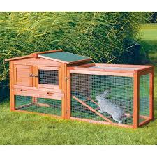 Sale Rabbit Hutches Precision Boomer U0026 George Bungalow Rabbit Hutch With Run Hayneedle