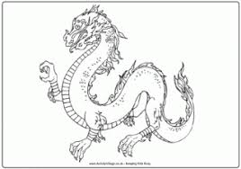 chinese dragon coloring pages easy chinese dragon printable coloring pages printable coloring page