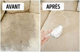 bicarbonate de soude nettoyage canapé 10 astuces géniales pour tout nettoyer à la maison sans se fatiguer