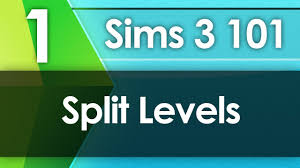 sims 3 101 split levels youtube
