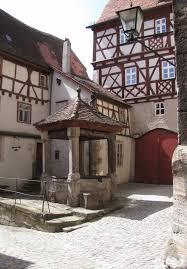 Post Bad Windsheim Rothenblog Ziehbrunnen In Rothenburg Ob Der Tauber