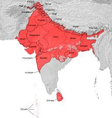 Map Of Northern India by The Atlas Of Pakistan Ethno Linguistic Maps