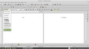 daftar isi tutorial cara membuat daftar isi otomatis di libreoffice writer