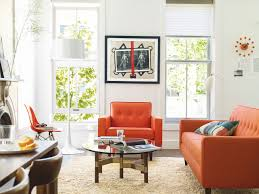 bantam sofa collection shown in the new dwr textiles living