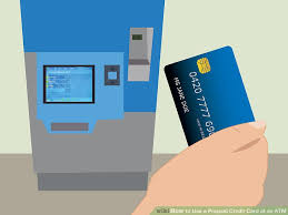 prepaid credit card online how to use a prepaid credit card at an atm 9 steps