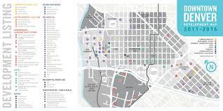 downtown denver development map highlights 4 4b in total