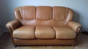 canapé cuir d occasion canapés en cuir occasion en alsace annonces achat et vente de