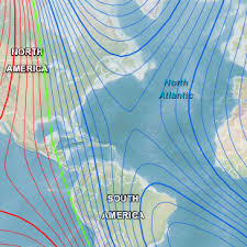 magnetic declination map magnetic declination variation ncei