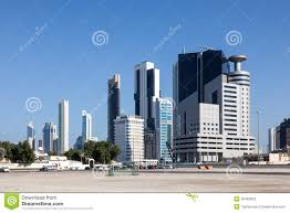 buildings in kuwait city editorial stock photo image 49465823
