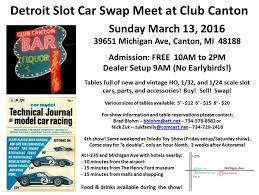 model auto racing association of kalamazoo detroit slot car show