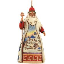 jim shore halloween jim shore greek santa ornament ethnic pride christmas
