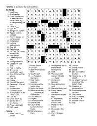 matt gaffney u0027s weekly crossword contest mgwcc 096 friday