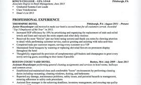 unforgettable residential house cleaner resume exles to stand