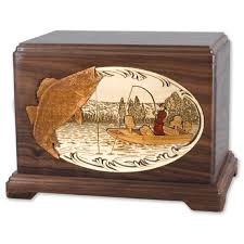 urns for cremation boat fishing cremation urn ashes wood