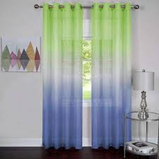 Green Sheer Curtains Green Grommet Sheer Curtains Drapes Window Treatments