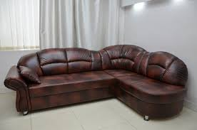 Leather Corner Sofa Real Leather Corner Sofa Bed Romero Real Leather All Over