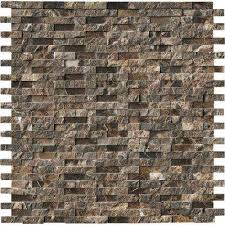 pebble tile natural stone tile the home depot mosaic tile tile the home depot