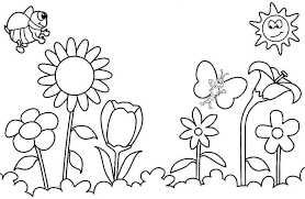 coloring pages to print spring spring coloring pages for preschoolers simploos co