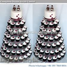 7 tier cupcake stand acrylic cake stand for wedding cakes buy 7