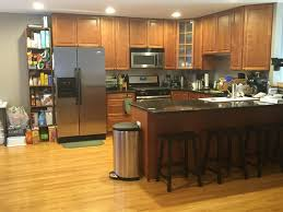 kitchen cabinets and wood floors advice for cherry wood kitchen cabinets wood flooring