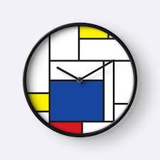 mondrian minimalist de stijl modern art ii