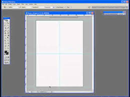 photoshop tutorial 1 creating an a3 template for a poster youtube