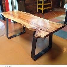 Oak Slab Table by 1942 Best Live Edge Wood Work Images On Pinterest Tables Wood