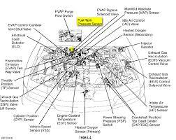 1995 honda accord engine diagram automotive parts diagram images